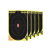 B/C SHOOT-N-C 12X18 SILHOUETTE 5PK