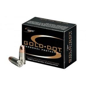 SPR GOLD DOT 9MM 115GR HP 20/500