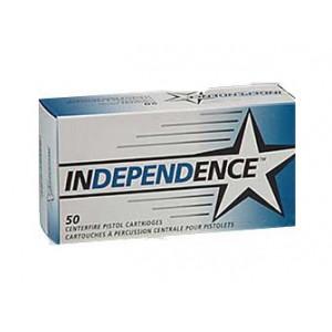 INDEPENDENCE 9MM 124GR 50/1000