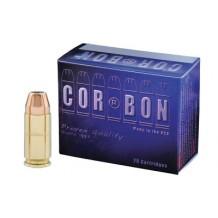 CORBON 9MM+P 90GR JHP 20/500