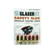 GLASER SILVER 9MM +P 80GR 6/PK