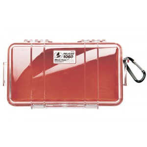 PELICAN CASE 8.25 X 4.25 X 2.25 RED