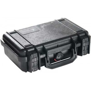 PELICAN CASE 1170 CUSTOM HANDGUN BLK